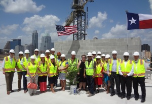 Hotel Indigo / Holiday Inn Express Topping Off