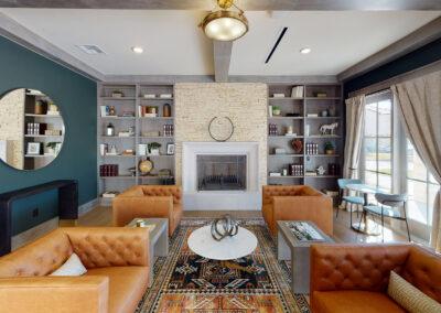 Palo Alto Luxury Apartments - Clubhouse