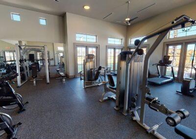 Palo Alto Luxury Apartments - Fitness Center