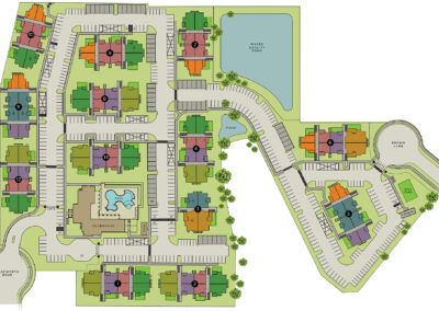 Pioneer Hill Luxury Apartments - Site Plan