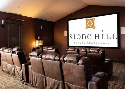 Stone Hill Apartments - Media Room