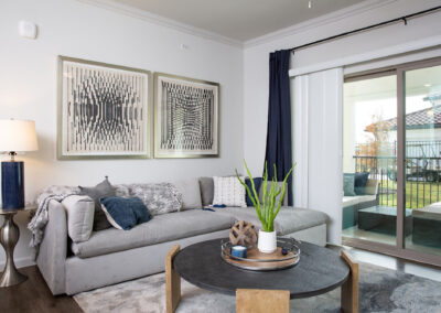 Stone Hill Apartments - Living